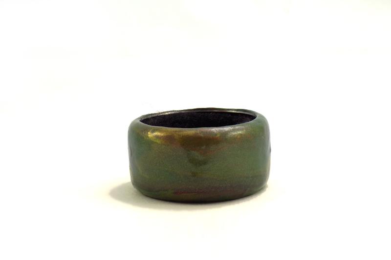 aro recogegota oliva y cobre