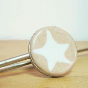 marcapáginas estrella